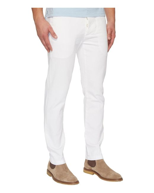 ... Vivienne Westwood - White Anglomania Tudor Chino Pants for Men - Lyst  ...