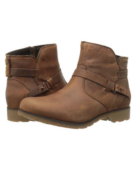 Teva - Brown Delavina Ankle - Lyst