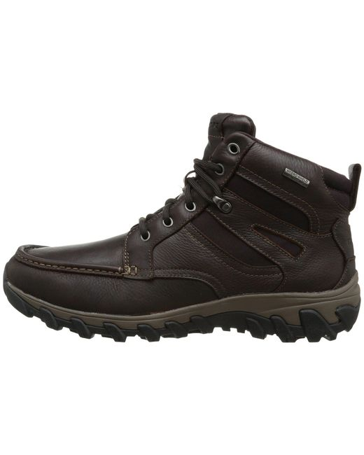 Cold Springs Plus Mocc Toe Boot - High 7 Eyelets Rockport