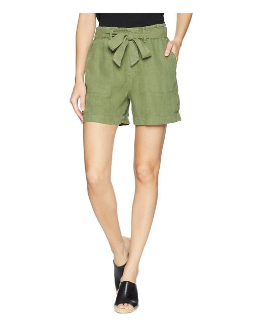Sanctuary - Green Muse Tie Waist Shorts - Lyst