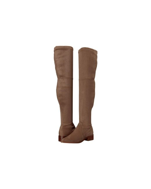 31b630879b5 Steve Madden - Brown Jestik Over The Knee Boot - Lyst ...
