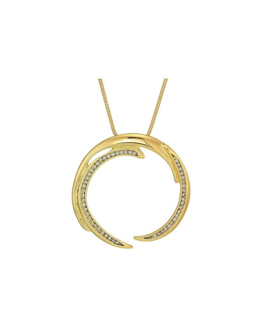 House of Harlow 1960 - Metallic Wave Pendant Necklace - Lyst