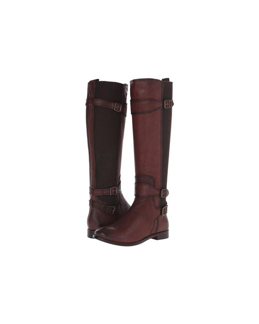 Frye - Brown Anna Gore Tall - Lyst