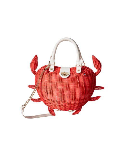 Betsey Johnson | Red Crab Calloway Crossbody | Lyst