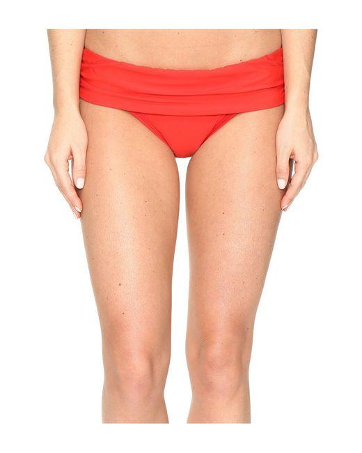 Athena - Multicolor Cabana Solids Lani Banded Bikini Bottom - Lyst