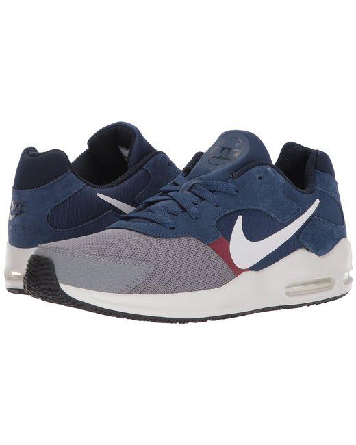 e4925342cdb wholesale blue white mens nike air max guile shoes 08863 7d288