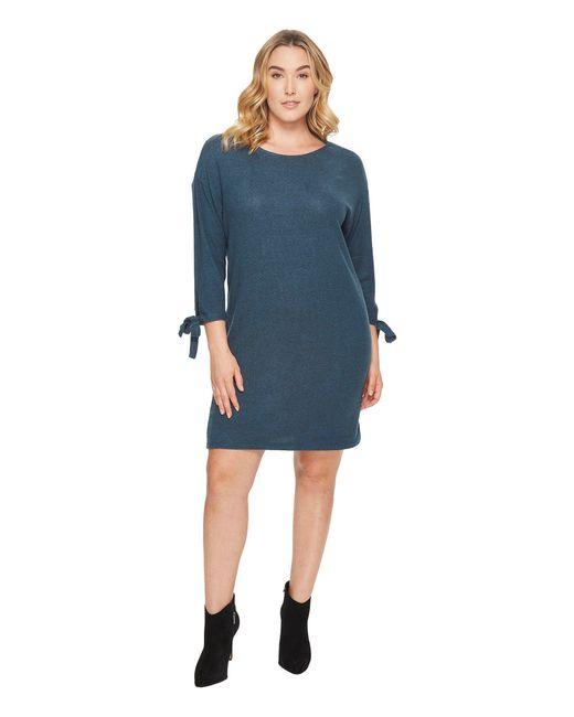 Lyst B Collection By Bobeau Plus Size Lanna Tie Sleeve Knit Dress