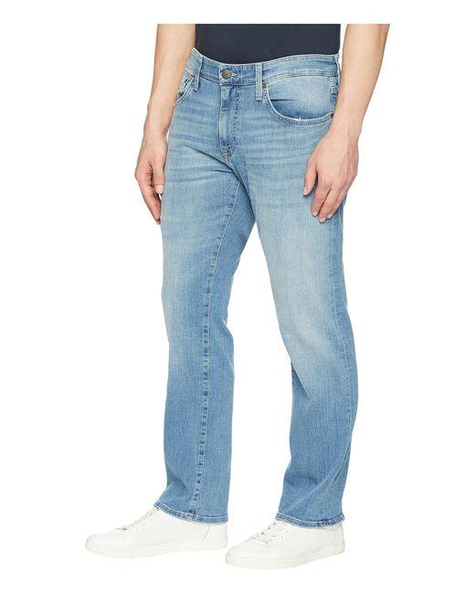 863ed9867b6e0 ... Mavi Jeans - Zach Regular Rise Straight Leg In Light Blue Williamsburg  for Men - Lyst ...