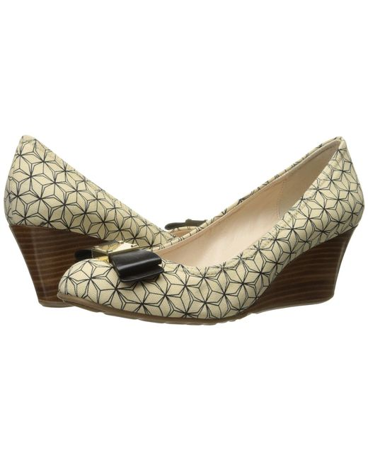 Cole Haan - Multicolor Tali Grand Bow Wedge 65 - Lyst