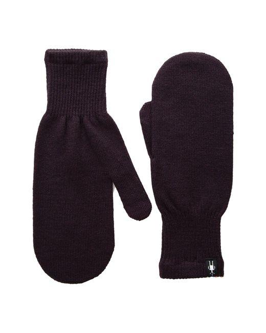 Smartwool - Blue Knit Mitt - Lyst