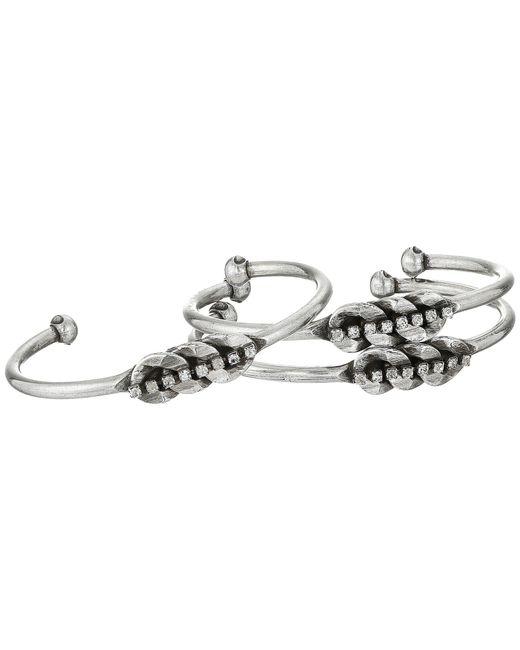 DANNIJO - Multicolor Damaris Cuff Bracelet Set - Lyst