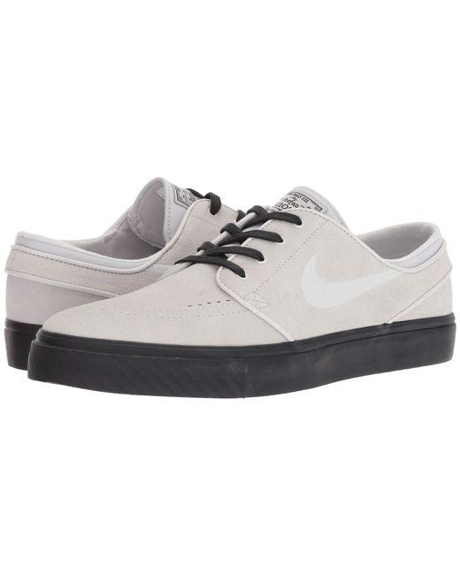 new photos 304af 3dc02 Nike - Gray Zoom Stefan Janoski – Suede for Men - Lyst ...