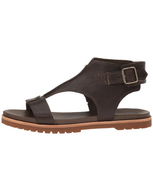 ... Timberland - Brown Natoma Ankle Strap Sandal - Lyst ...