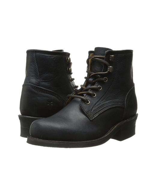 Frye - Black Engineer Lace Up - Lyst