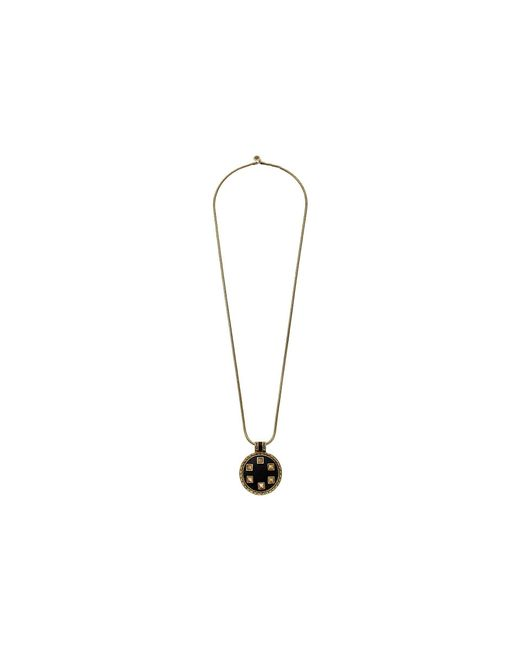 House of Harlow 1960 - Metallic Helicon Medellion Necklace - Lyst
