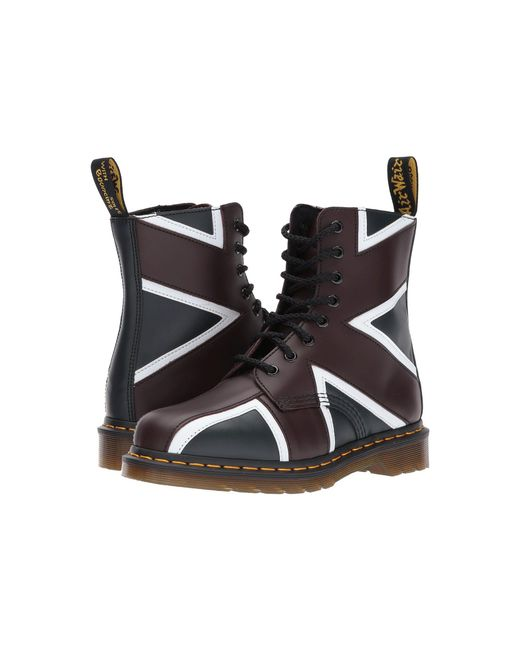Dr. Martens - Multicolor Union Jack Pascal 8-eye Boot - Lyst