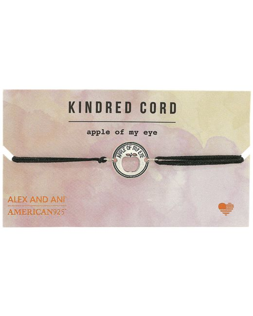 ALEX AND ANI - Metallic Cosmic Love Kindred Cord Bracelet - Lyst