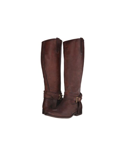 Frye - Brown Melissa Knotted Tall - Lyst