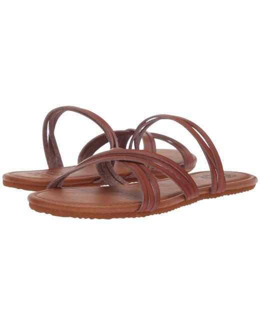 Billabong - Brown Sandy Toes - Lyst