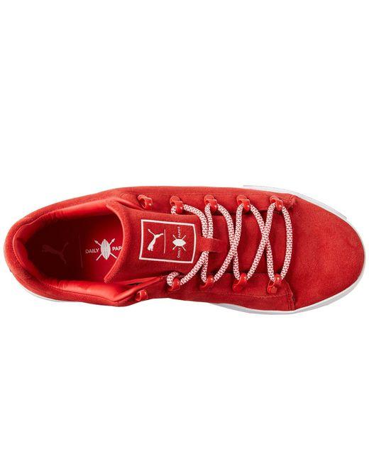... PUMA - Red X Dp Court Platform S for Men - Lyst ... 01ec82bc1
