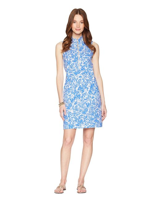 Lilly Pulitzer - Blue Skipper Sleeveless Dress - Lyst