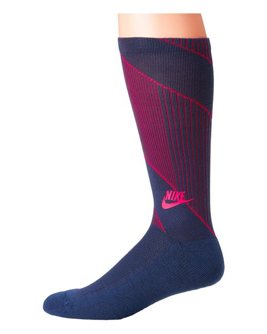 Nike - Blue Sportswear Texture Knit Crew Socks for Men - Lyst