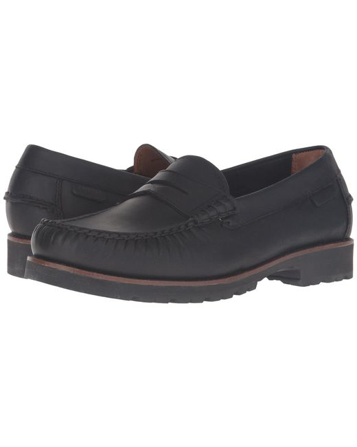 Lyst Cole Haan Connery Penny In Black For Men Save 11