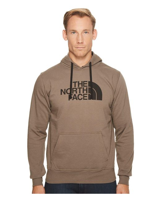 The North Face - Brown Half Dome Hoodie for Men - Lyst