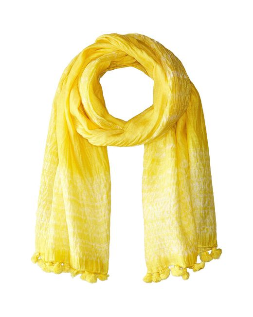 Eileen Fisher - Yellow Scarf - Lyst