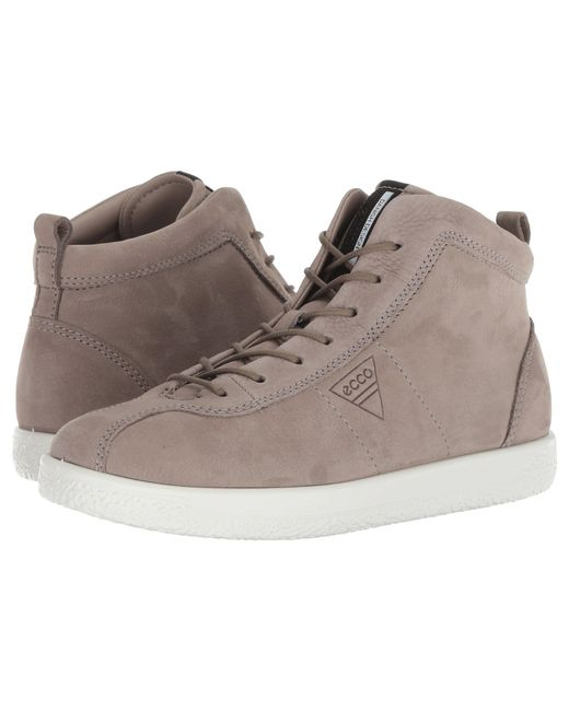 6abe579cd1ec Lyst - Ecco Soft 1 High Top in Gray - Save 39%