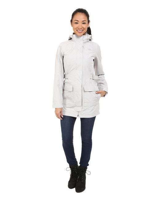 The North Face - Gray Tomales Bay Jacket - Lyst
