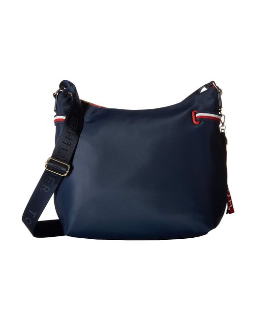 Tommy Hilfiger - Blue Shelly Hobo - Lyst