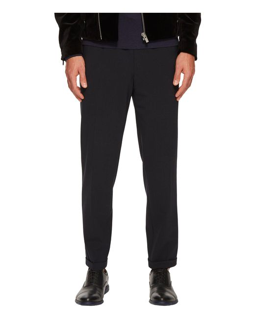 The Kooples - Blue Trousers With Elasticated Waist for Men - Lyst