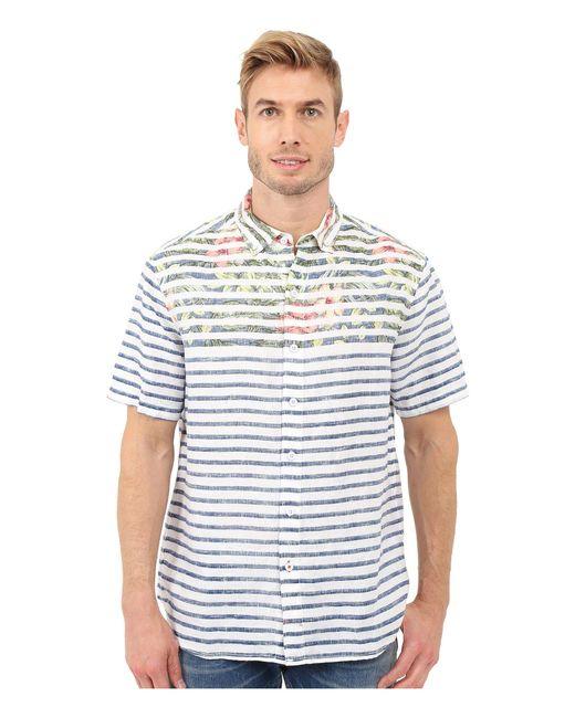 Tommy Bahama - Blue Breton Blooms Breezer Linen Camp Shirt for Men - Lyst