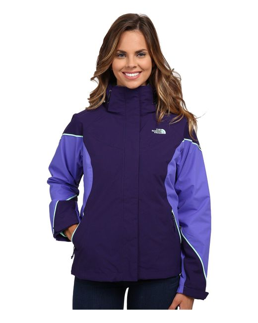 The North Face | Purple Boundary Triclimate® Jacket | Lyst