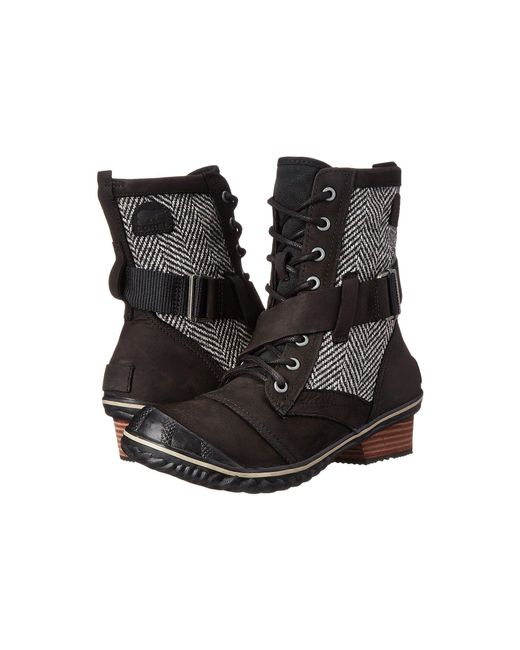 Sorel | Black Slimboot™ Lace | Lyst