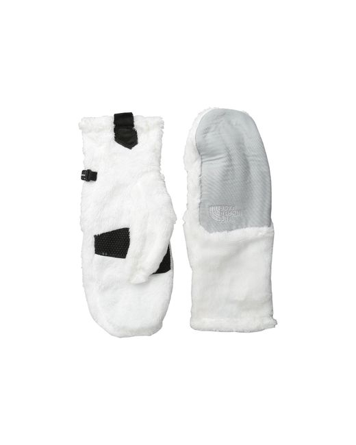 The North Face   White Denali Thermal Mitt   Lyst