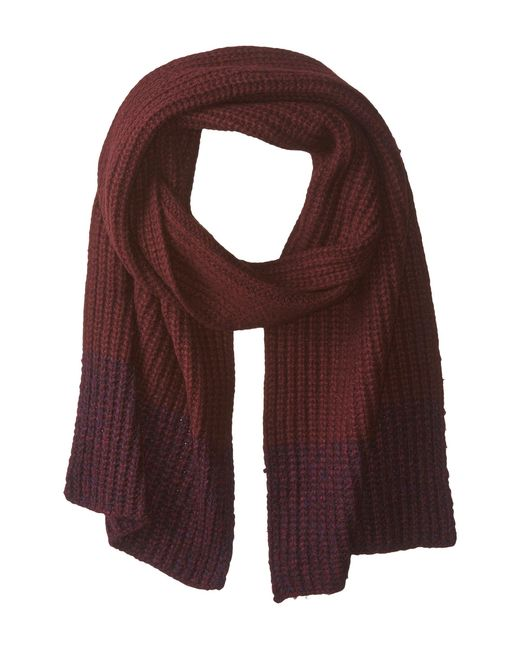Marc By Marc Jacobs   Brown Patchwork Wool Scarf   Lyst