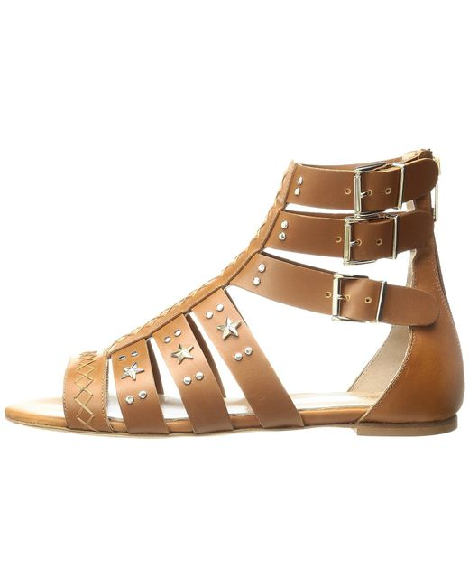Just Cavalli Leather Star and Stud Sandal m9pPFpY