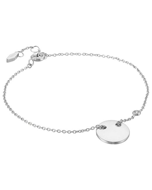 Fossil | Metallic Engravable Bracelet | Lyst