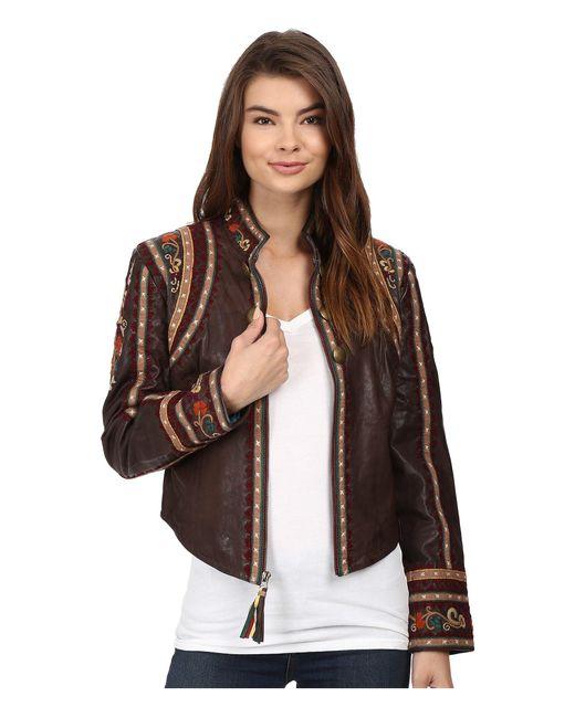 Double D Ranchwear   Brown La Rioja Jacket   Lyst