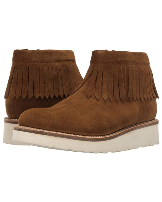 GRENSON   Brown Trixie Moccasin   Lyst