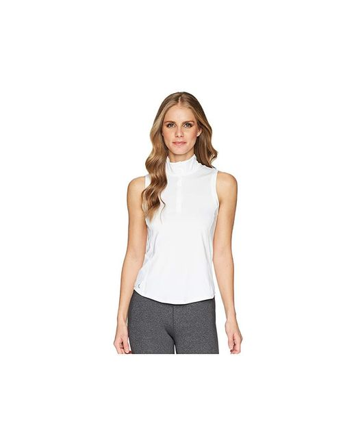 e0e8d28923c1da Lolë Clarisa Tank Top (white) Sleeveless in White - Save 62% - Lyst