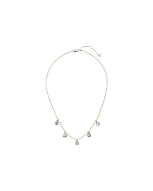 Lauren by Ralph Lauren | Metallic Headlines 16 In Hexagon Frontal Necklace | Lyst