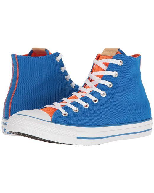 Converse | Blue Chuck Taylor® All-star® Hi for Men | Lyst