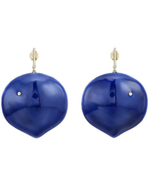 Elizabeth and James - Blue Brie Earrings - Lyst
