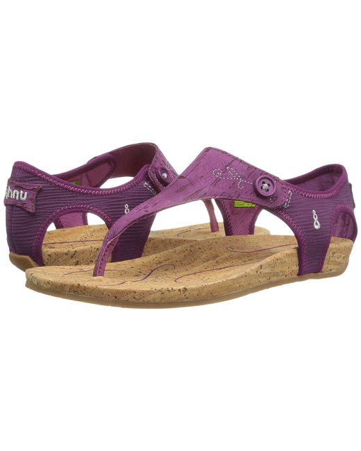 Ahnu - Purple Serena Cork - Lyst