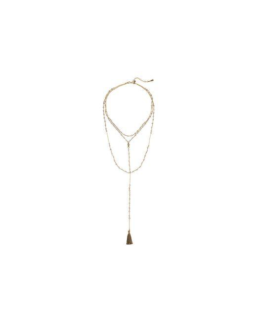 Shashi - Multicolor Enne Lariat Necklace - Lyst