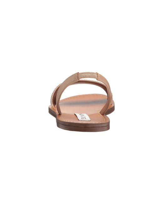 d7295933980 Lyst - Steve Madden Rock Sandal in Brown - Save 26%