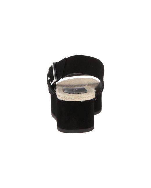 290b8b169b7 Lyst - Rag   Bone Megan Suede Platform Sandals in Black - Save 65%
